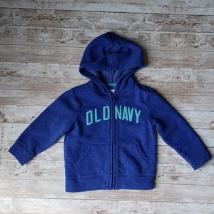 Old Navy Zip Up Hoodie with Logo